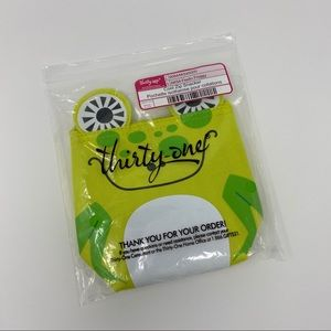 NEW! Thirty-One Cool Zip Snacker - Froggy